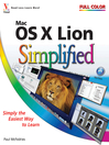 Mac OS X Lion Simplified (eBook): Simplified Series, Book 19